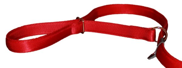 UniWalker figure of 8 dog lead red